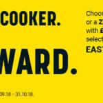 Choose your Cooker... Choose your Reward!