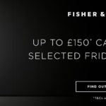 Cash Back with Fisher & Paykel