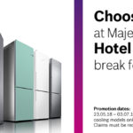 Choose £70 to spend at Majestic Wine or a Hotel or Spa break for 2 in our Bosch Home or Away Deal