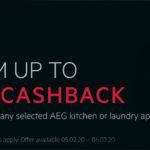 Spring Cashback with AEG