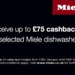 Dishwasher cashback from Miele