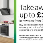 Take Away up to £150 in rewards from Bosch