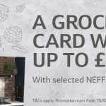 Get your groceries FREE, when buying selected Neff appliances
