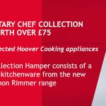 FREE Simon Rimmer Chef Collection free with Hoover