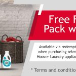 FREE FAIRY WASHING PACK WORTH £40 WITH HOOVER