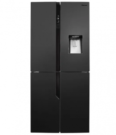 Hisense HS80W4DWBL Frost free fridge freezer