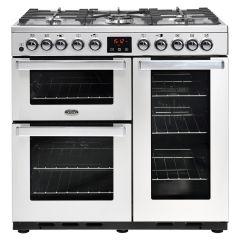 Belling COOKCENTREDX 90DFT PRO 90cm dual fuel range cooker