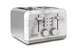 Haden 198808 Cotswold Marble Effect 4 Slice Toaster
