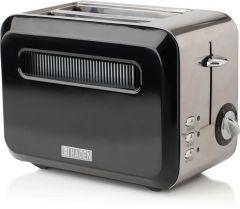 Haden 183521 Boston Black 2 Slice Toaster