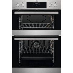 AEG DEB331010M Built in double oven