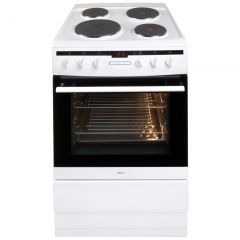 Amica 608EE2TAW 60cm single cavity electric cooker