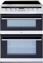 Amica AFC6550SS 60cm ceramic double oven cooker