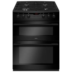 Amica AFD6450BL 60cm dual fuel double oven cooker