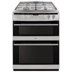 Amica AFG6450SS 60cm double oven gas cooker