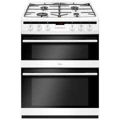 Amica AFG6450WH 60cm double oven gas cooker