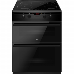 Amica AFN6550MB 60cm induction double oven cooker
