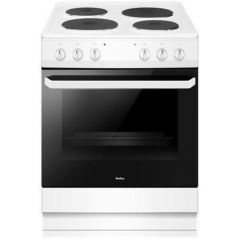 Amica AFS1630WH 60cm single cavity electric cooker