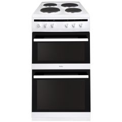Amica AFS5500WH 50cm electric double oven cooker