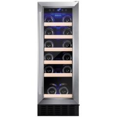 Amica AWC300SS 30cm freestanding wine cooler