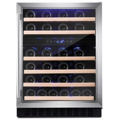 Amica AWC600SS 60cm freestanding wine cooler