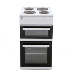 Beko EDP503W 50cm Double Oven Cooker