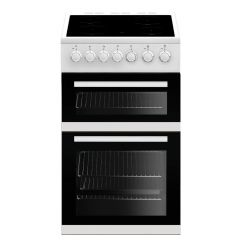 Beko EDVC503W 50cm Double Oven Cooker