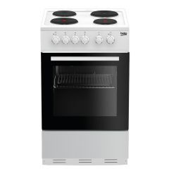 Beko ESP50W 50cm Single Cavity Cooker