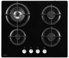 Belling GTG60C Blk 60cm gas on glass hob
