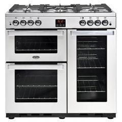 Belling COOKCENTRE90G PROF Sta 90cm gas range cooker