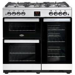 Belling COOKCENTRE90G Sta 90cm gas range cooker