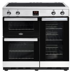 Belling COOKCENTRE90Ei Sta 90cm induction range cooker