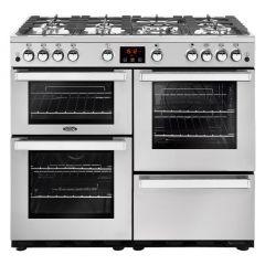 Belling COOKCENTRE100G PROF Sta 100cm gas range cooker