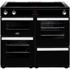 Belling COOKCENTRE100Ei Blk 100cm induction range cooker