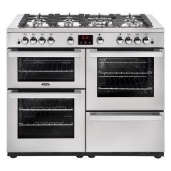 Belling COOKCENTRE110G PROF Sta 110cm gas range cooker