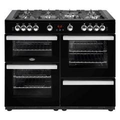 Belling COOKCENTRE110G Blk 110cm gas range cooker