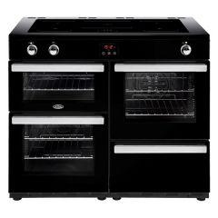 Belling COOKCENTRE110Ei Blk 110cm induction range cooker