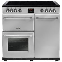 Belling FARMHOUSE90E Sil 90cm electric range cooker