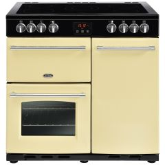 Belling FARMHOUSE90E Crm 90cm electric range cooker