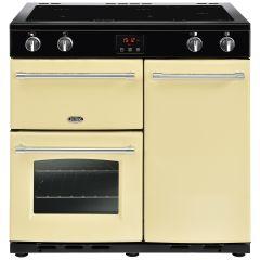 Belling FARMHOUSE90Ei Crm 90cm induction range cooker