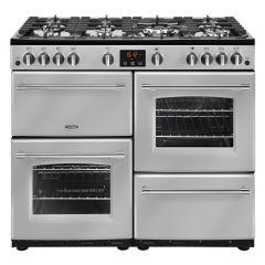 Belling FARMHOUSE100G Sil 100cm gas range cooker