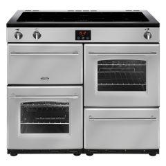Belling FARMHOUSE100Ei Sil 100cm electric range cooker