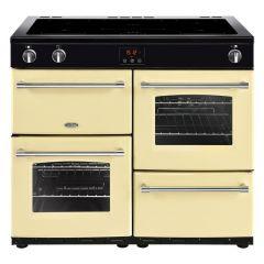 Belling FARMHOUSE100Ei Crm 100cm electric range cooker