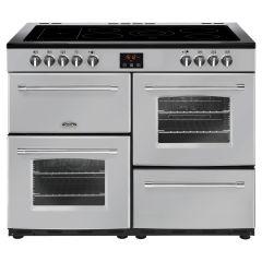 Belling FARMHOUSE110E Sil 110cm electric range cooker