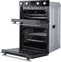Belling BI902MFCT Blk 90cm built in multifunction double oven