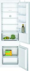 Bosch KIV87NSF0G Built-in low frost fridge freezer