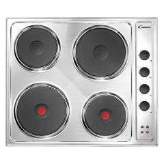 Candy CLE64X 60cm electric hob
