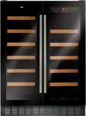 Cda FWC624BL 60cm freestanding wine cooler
