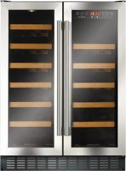 Cda FWC624SS 60cm freestanding wine cooler