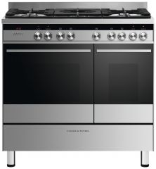 Fisher Paykel OR90L7DBGFX1 90cm dual fuel range cooker