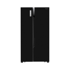 Fridgemaster MS91518FBB American fridge freezer